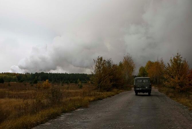 Вибухи на Чернігівщині